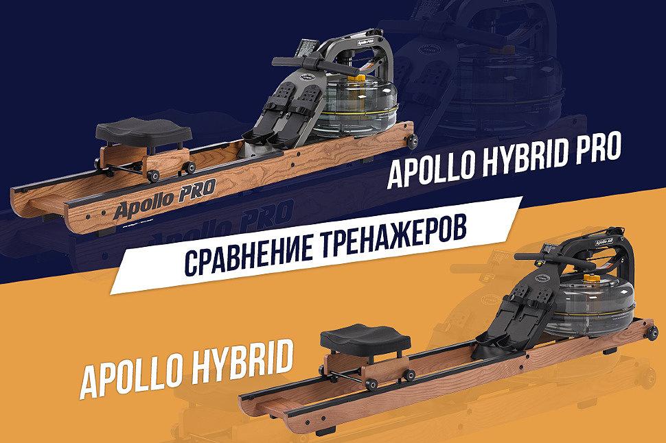 Гребные тренажеры FDF серии Apollo – какая модель подойдет именно вам?