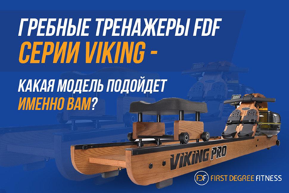 Гребные тренажеры FDF серии Viking – какая модель подойдет именно вам?