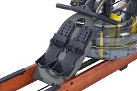 Гребной тренажер Apollo Hybrid PRO Plus V - упоры для ног