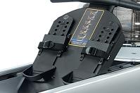 Гребной тренажер Mega PRO XL - упоры для ног