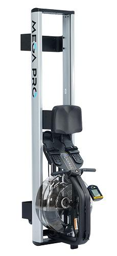 Гребной тренажер Mega PRO XL вертикальное хранение