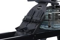 Гребной тренажер Neon - упоры для ног