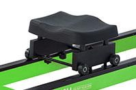 Гребной тренажер Neon - удобное сиденье