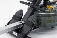 Тренажер для гребли Neptune Challenge - комфортные рукоятки и упоры для ног