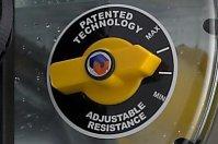 Запатентованная система Adjustable Resistance c 4 уровнями нагрузки
