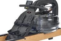 Гребной тренажер Apollo Plus - упоры для ног