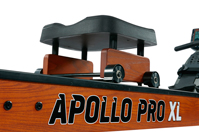 Гребной тренажер Apollo Hybrid PRO Plus XL - удобное сиденье