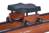 Гребной тренажер Apollo PRO V - удобное сиденье