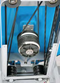 Fluid Rower E-316 система Direct Drive